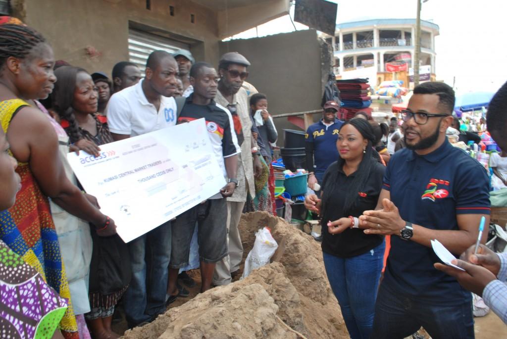 Donation in Kumasi