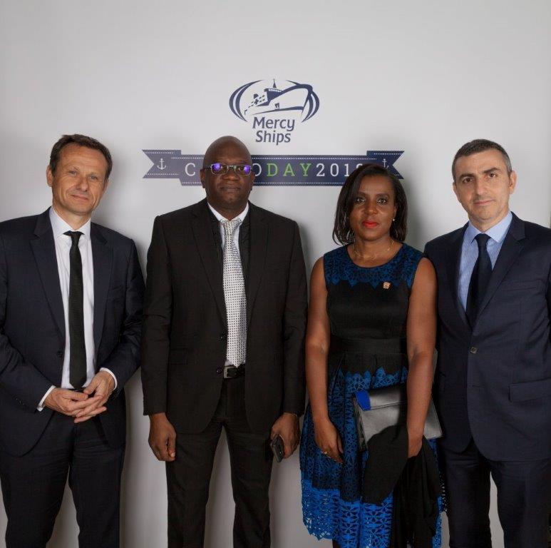 From Left: Valery Guillebon - CEO, Sahara Energy International Pte Limited, Kola Motajo - Vice President Head of Treasury, Carole Trazie - Vice President Head of Accounting and Alessandro Ravalli - COO
