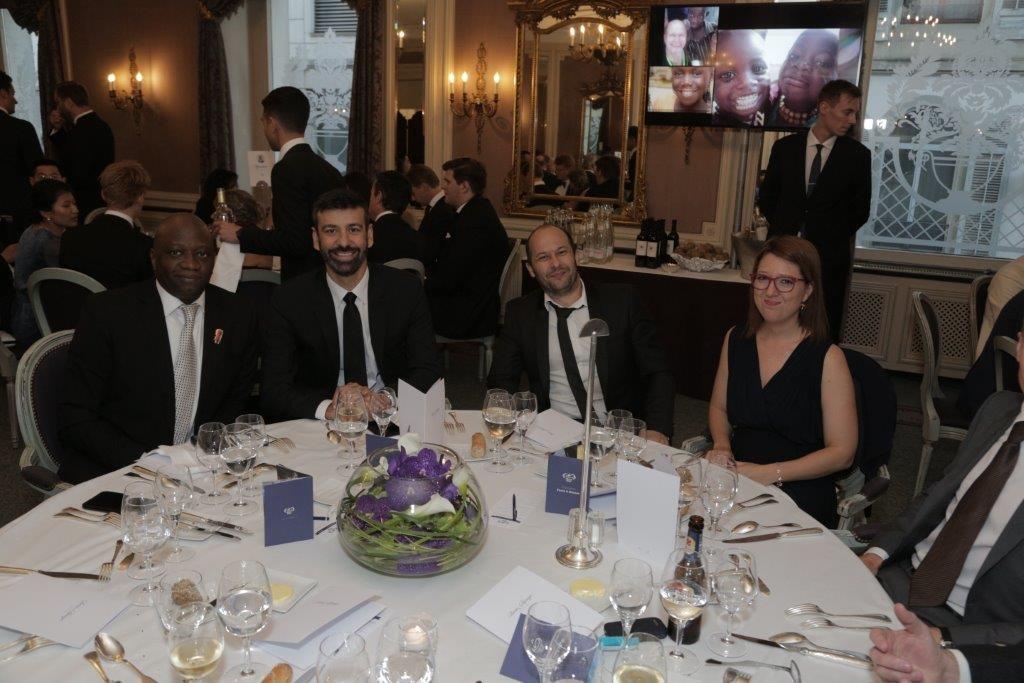 From L to R: Kola Motajo - Vice President Head of Treasury, Daniel Cuadrado - Senior Crude Trader, Gabriel Sirbu - Products & LPG Trader and Dora Viazzo - Middle Office Team Leader