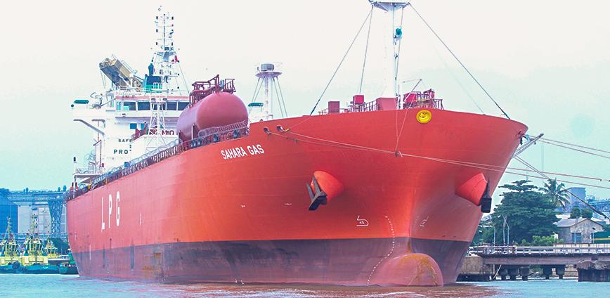 MT Sahara Gas