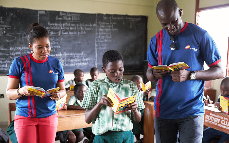 Sahara Group literacy day