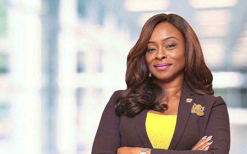 Mrs. Moroti Adedoyin-Adeyinka, Managing Director, Asharami Synergy Plc