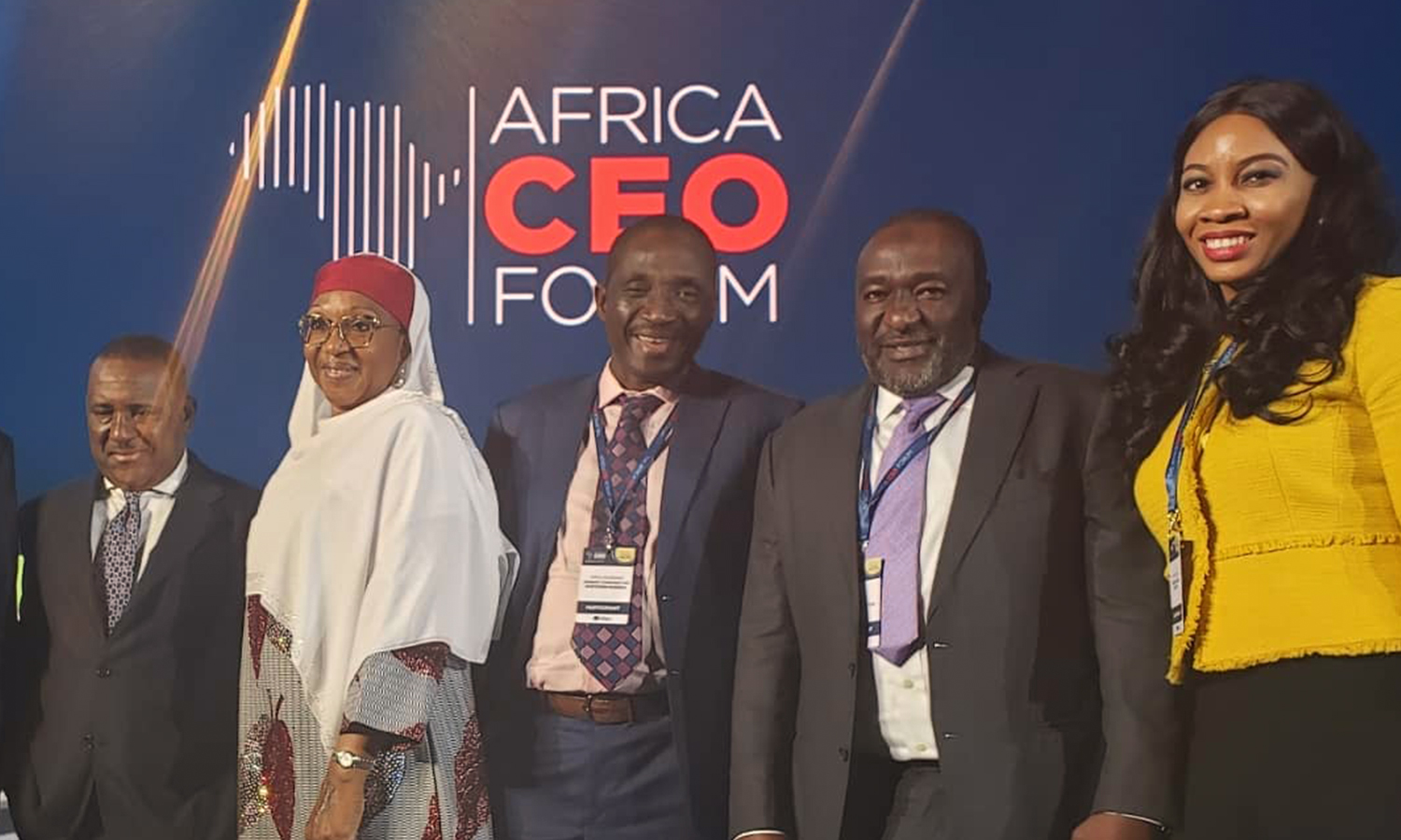 Pearl Uzokwe, Director Goveernance & Sustainability Sahara Group at Africa CEO Forum 2019